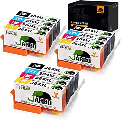JARBO Compatible para HP 364XL 364 XL Cartuchos de tinta para HP ...