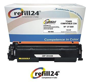 CF230X Cartucho de Toner Compatible CF230X HP 30X con Chip ...