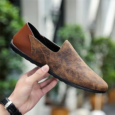 Herren Mokassins Bequeme Weiche Männer Müßiggänger Kuh Echtes Leder Mode  Herren Wohnungen Fahren Schuhe Plus Größe 1cfb3a7481