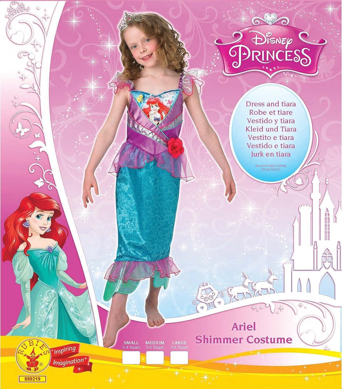 Rubies s oficial Shimmer - Ariel, los niños disfraz - pequeño: Amazon.es: Juguetes y juegos