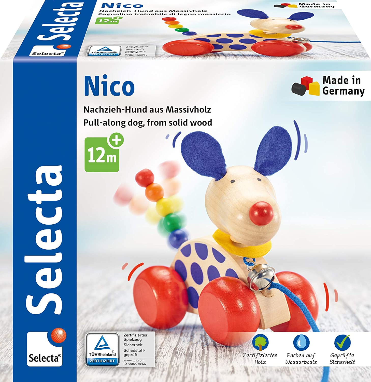 Selecta Nico Pull-Up Dog £3.32 @ Amazon