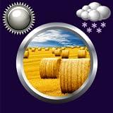 Wettervorhersage Hay Bales