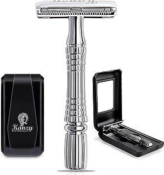 KANZY maquinilla de afeitar de doble filo - Afeitado manual ...