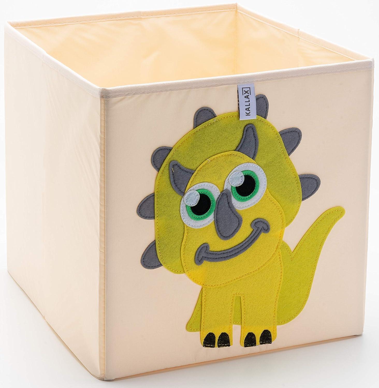 Kallax - Caja de almacenamiento plegable de tela lavable para juguetes y juguetes en forma de cubo para armarios, muebles, habitación de los niños, 33 x 33 x 38 cm: Amazon.es: Bebé
