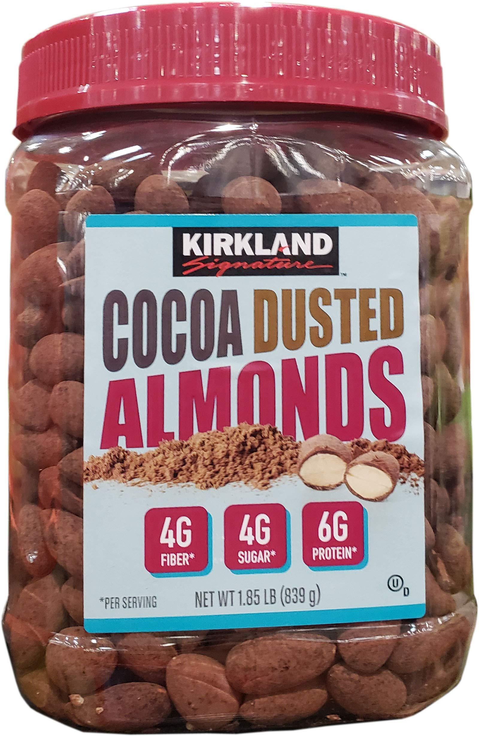 Kirkland Signature Cocoa Dusted Almonds, 29.6 Ounce by Kirkland Signature (Image #1)