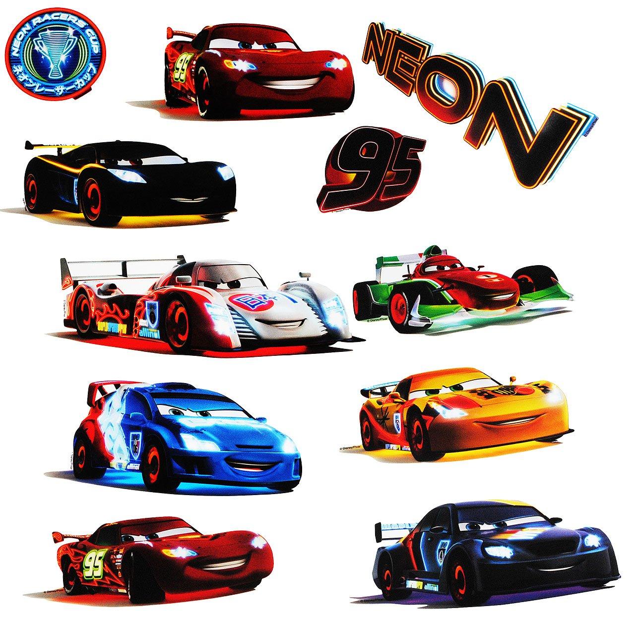 alles-meine.de GmbH 11 tlg. Set _ XL Fensterbilder - Disney Cars / Lightning Mc Queen - Incl. ..