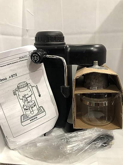 Amazon.com: Krups Modelo 963 Negro Espresso/Cappuccino Maker ...