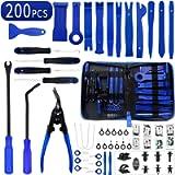 Wetado Trim Removal Tool, 200PCS Trim Tool Auto Removal Kit, Plastic Panel Fastener Removal Tool, Trim Removal Kit for…