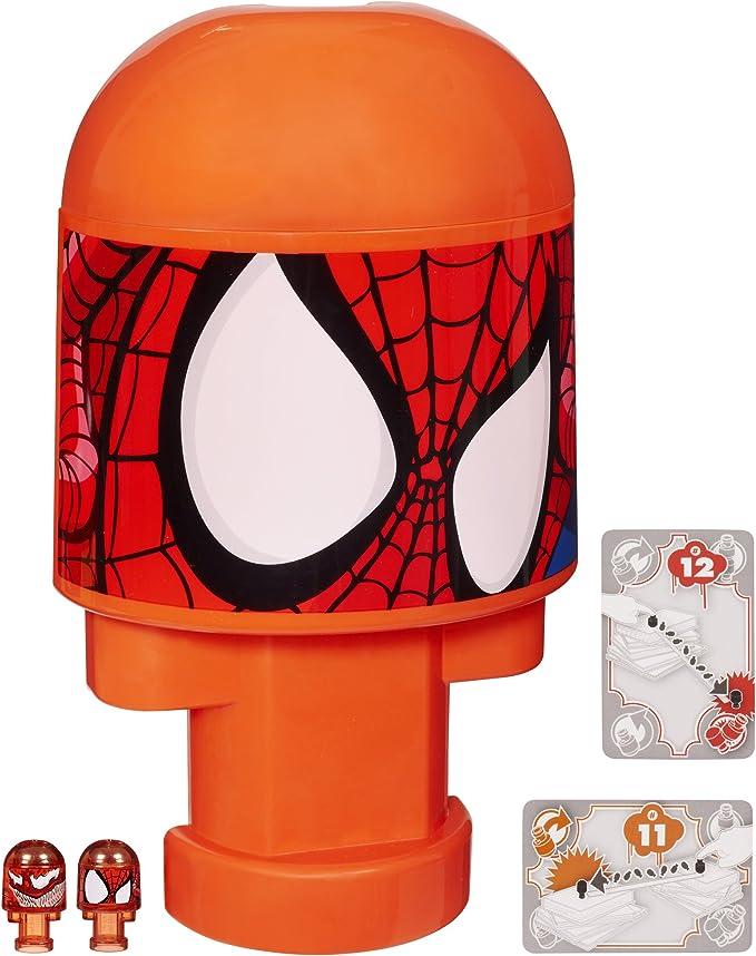 NEW Hasbro Bonkazonks Marvel Spider-Man Headquarters 2 Card 2 Figures Holds 80