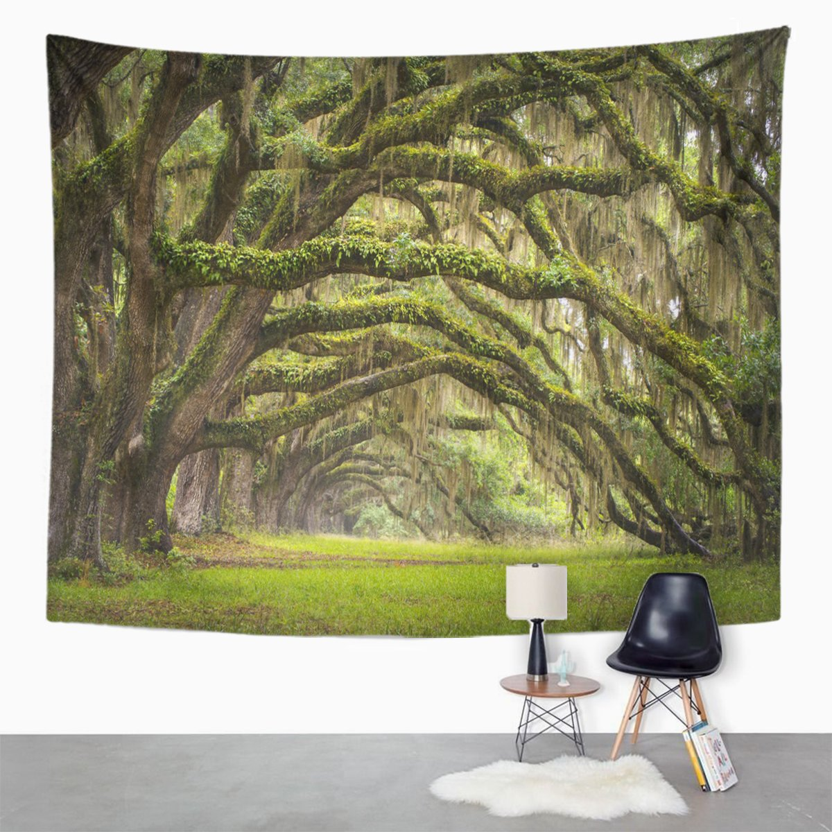 Amazon.com: Emvency Tapestry Oaks Avenue Charleston Sc ...