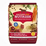 Rachael Ray Nutrish Super Premium Dry Dog Food, Beef, Pea & Brown Rice Recipe
