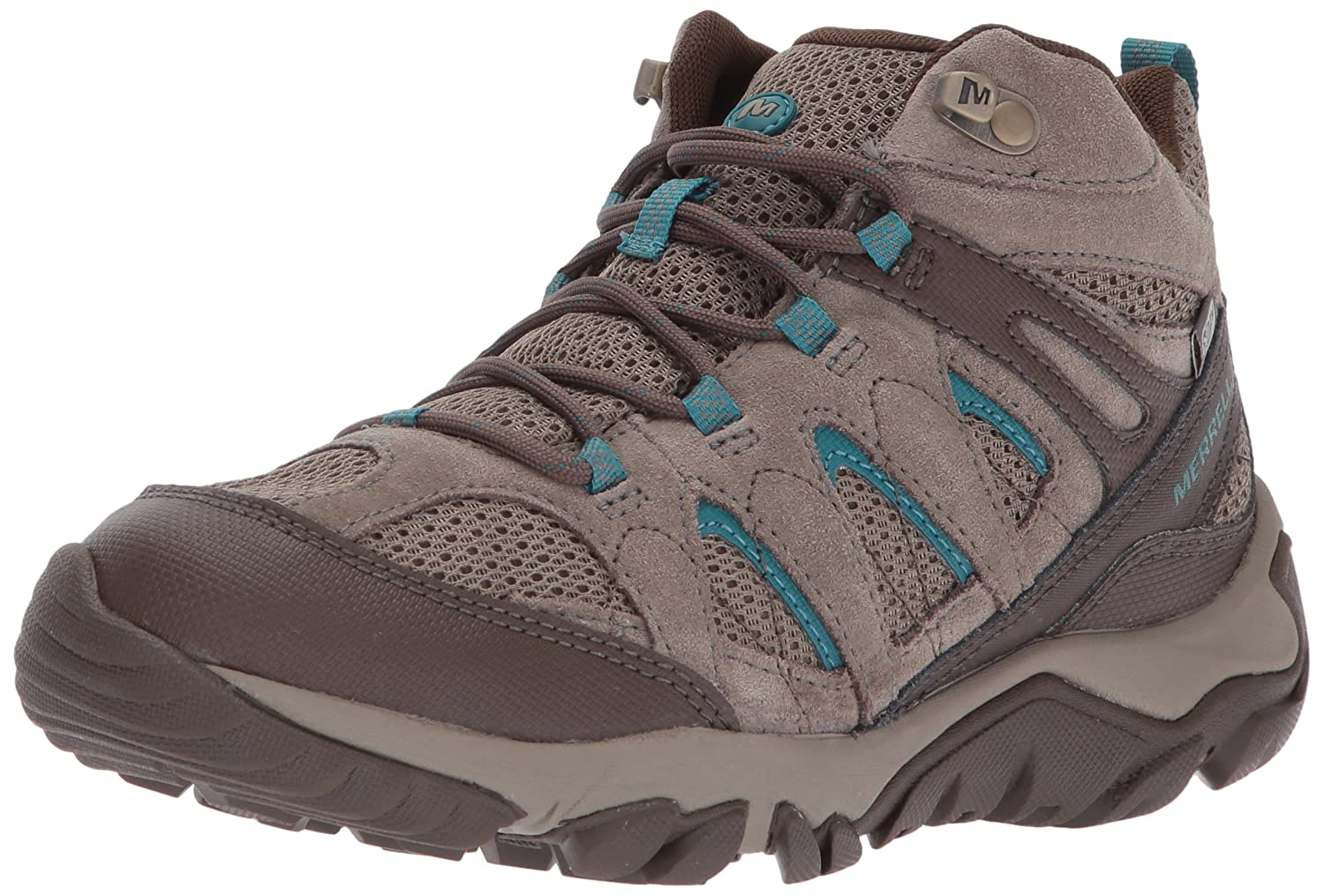 Merrell Women's Outmost Mid Vent Waterproof Hiking Boot B01N2U1DM9 5 B(M) US|Boulder