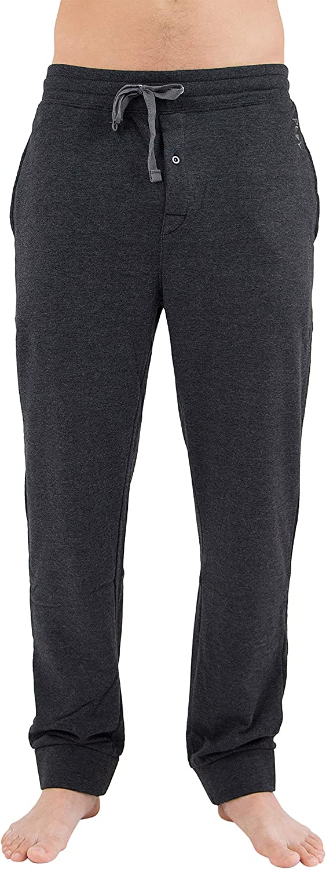 INTIMO Mens Loft Fleece Pajama Sleep Pants