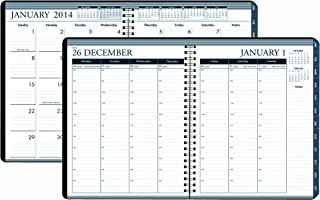 product image for House of Doolittle Weekly/Monthly Planner 12 Months January 2014 to December 2014, 8.5 X 11 Inches, Weekly Monthly Format with Tabbed Monthly Index, Recycled (HOD28302)