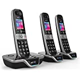 BT 8600 Advanced Call Blocker Cordless Home Phone with Answer Machine (Trio Handset Pack)