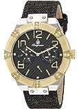 Burgmeister - BM611-922A - Montre Femme - Quartz - Analogique - Bracelet Tissu noir