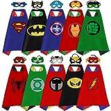 Superhero Capes, Masks, and Bracelets for Kids by