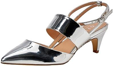 Sacs pour talon Amazon et à femme fr Chaussures en érable Cheville pvFTxvO