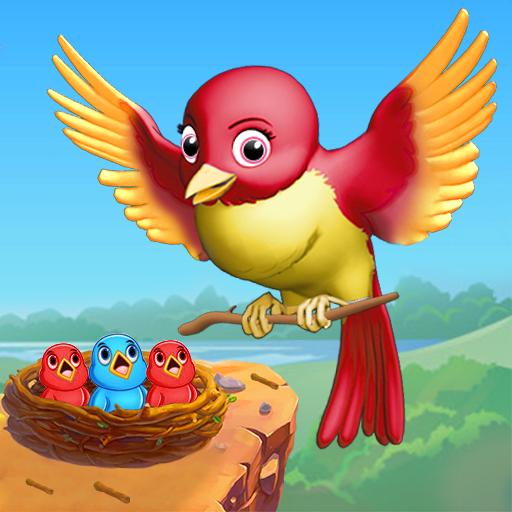 Flying Bird Hoop: Free Bird Simulator Game 2019