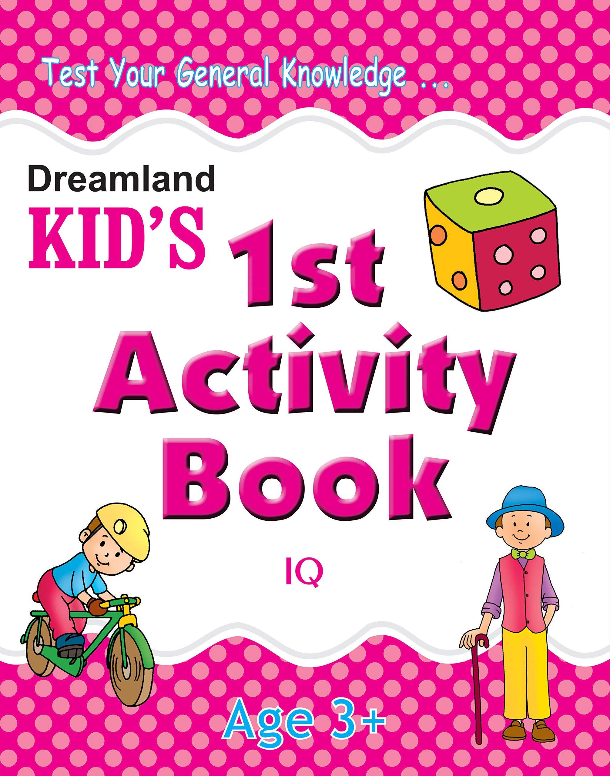 1st Activity Book – IQ (Kid's Activity Books)
