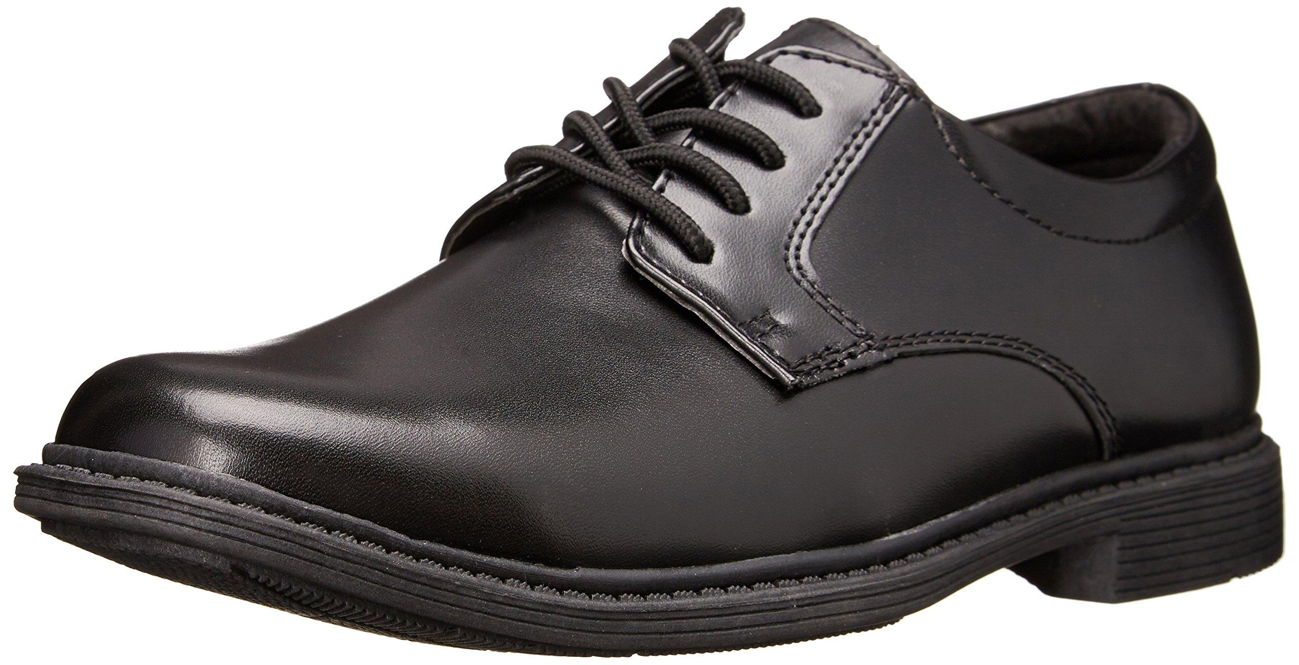 Stacy Adams Austin Plain Toe Uniform Dress/Casual Lace-up Uniform Oxford Shoe (Little Kid/Big Kid),Black,11 M US Little Kid