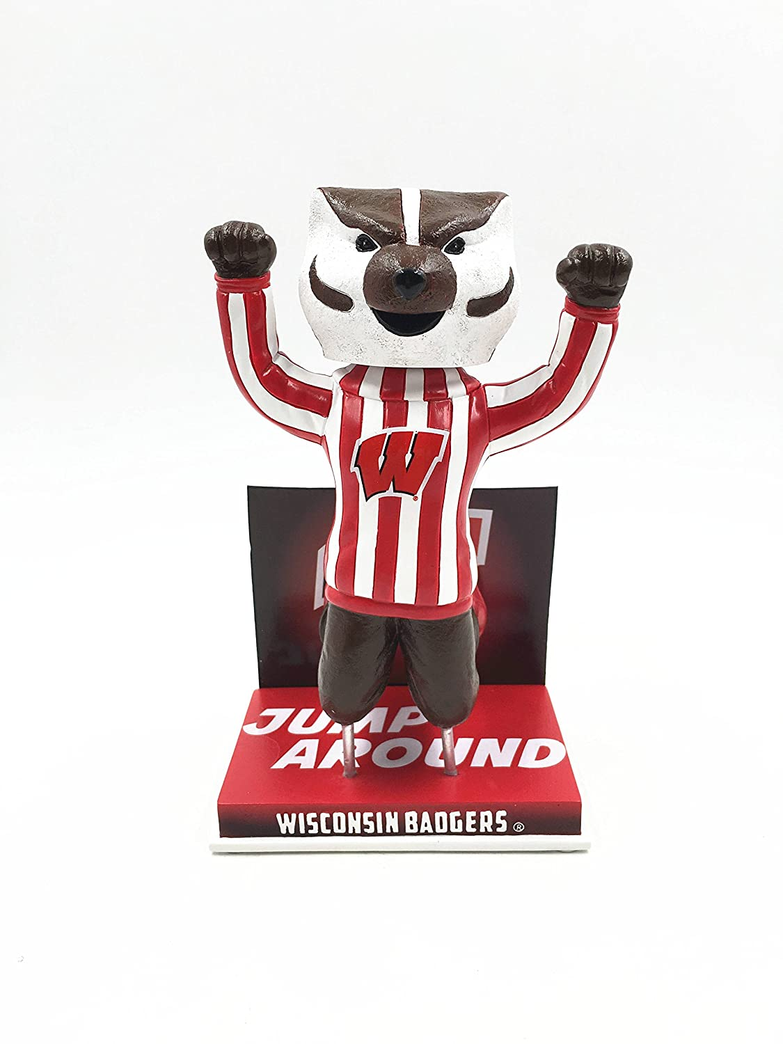 Bucky Badger Wisconsin Badgers Jump Around Special Edition