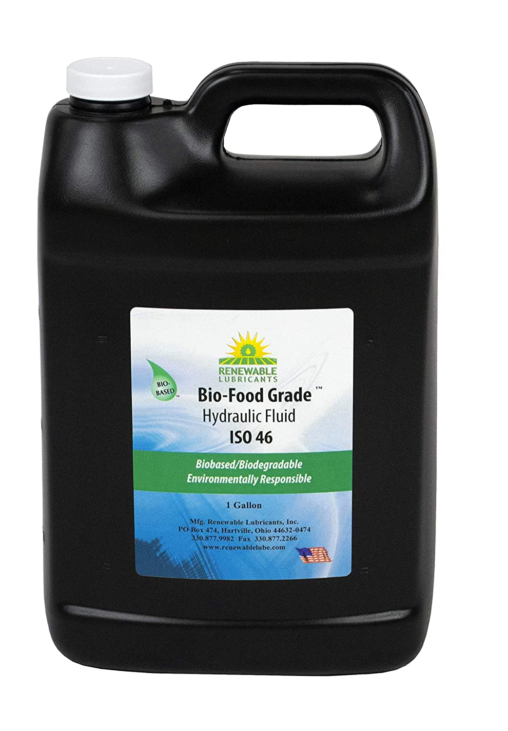 Bio-Food Grade Hydraulic Fluid, 1 gal, ISO 46, 87133