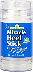 Miracle Heel Stick with UltraAloe, 2.5 Ounce Stick