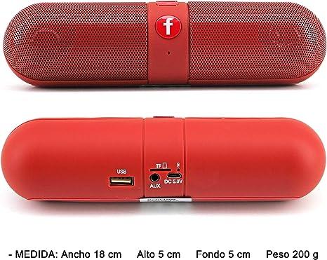 portable mini bluetooth pill speaker
