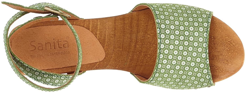 Sanita Sandale Damen Yarissa Flex Sandale Sanita RiemchenSandale Grün (Grün) c6a29e