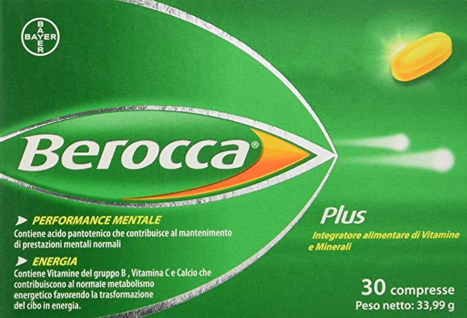 BEROCCA 30 COMP EFERV: Amazon.es: Bebé