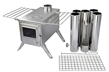 Durable 304 Stainless Steel Winnerwell Manufacturing Compatible with Large Size Winnerwell Wood Burning Tent Stoves Winnerwell Water Tank Large