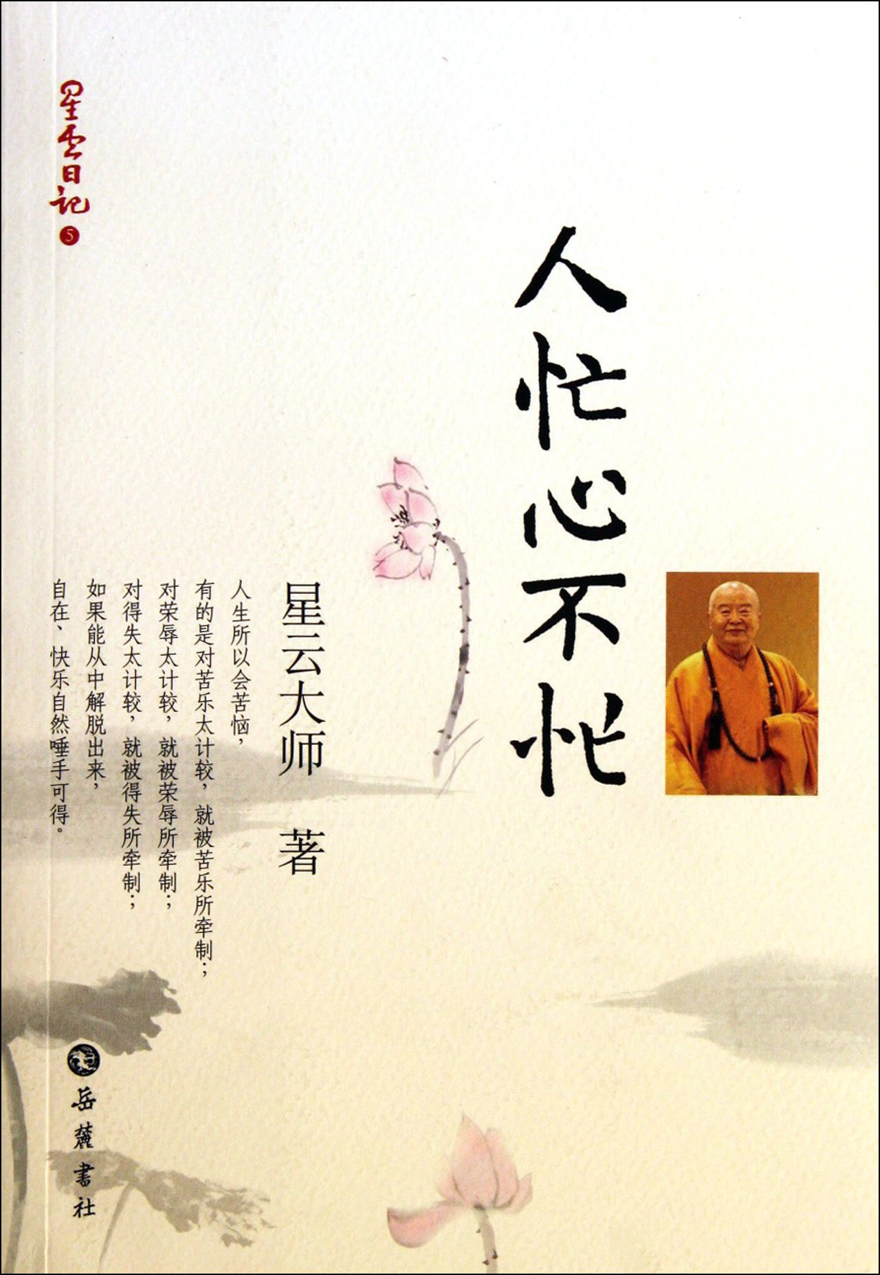 Busy Man with an Idle Heart- Buddhist Xingyun diary series 5 (Chinese Edition) PDF