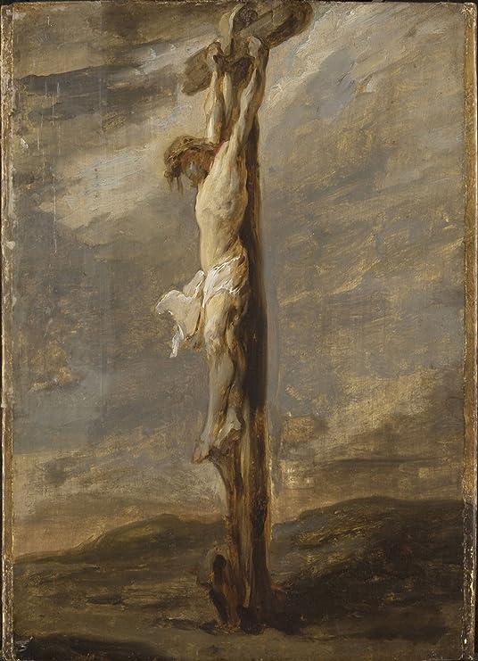 Amazon.com: Rembrandt Van Rijn - Crucifixion (After) Painting