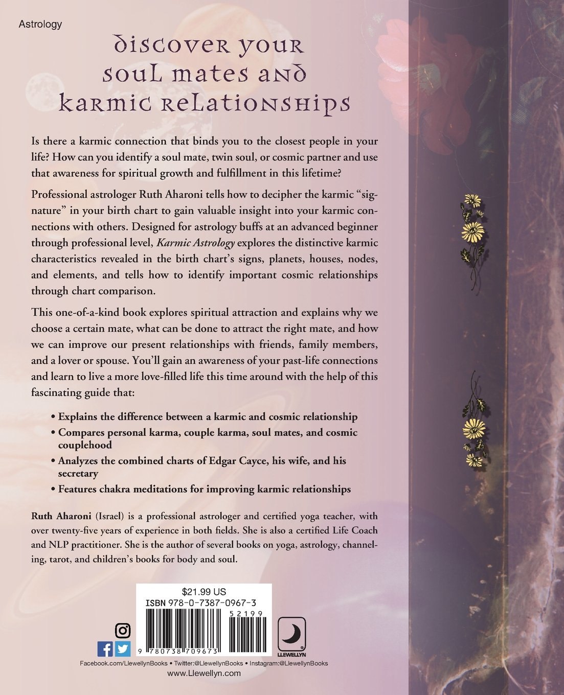 Amazon karmic astrology past lives present loves amazon karmic astrology past lives present loves 9780738709673 ruth aharoni books geenschuldenfo Image collections