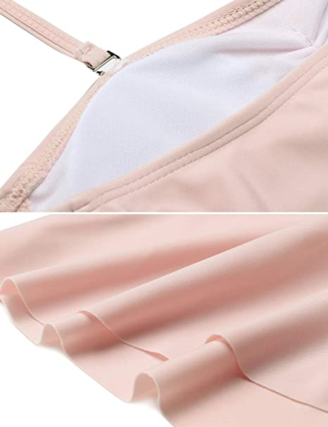 690e3b5cc8571 FANEO 2017 Swimsuits Classic Swimsuits Cold Shoulder Swimsuit Skirts at Amazon  Women's Clothing store: