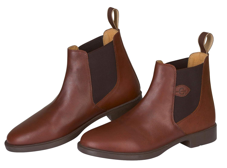 Kerbl Mixte Adulte Reitstiefelette Leder Classique Noir, GR. 41Bottes d'équitation, Mixte, Leather, Marron, 41 (EU)