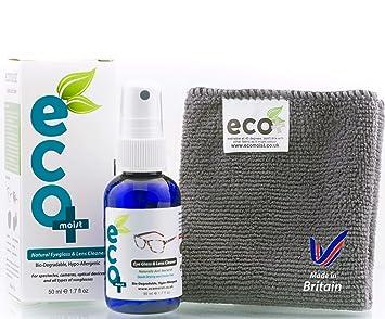Líquido Limpiador óptico de Gafas y Lentes con toalla de Microfibra Fina 50ml: Amazon.es: Electrónica