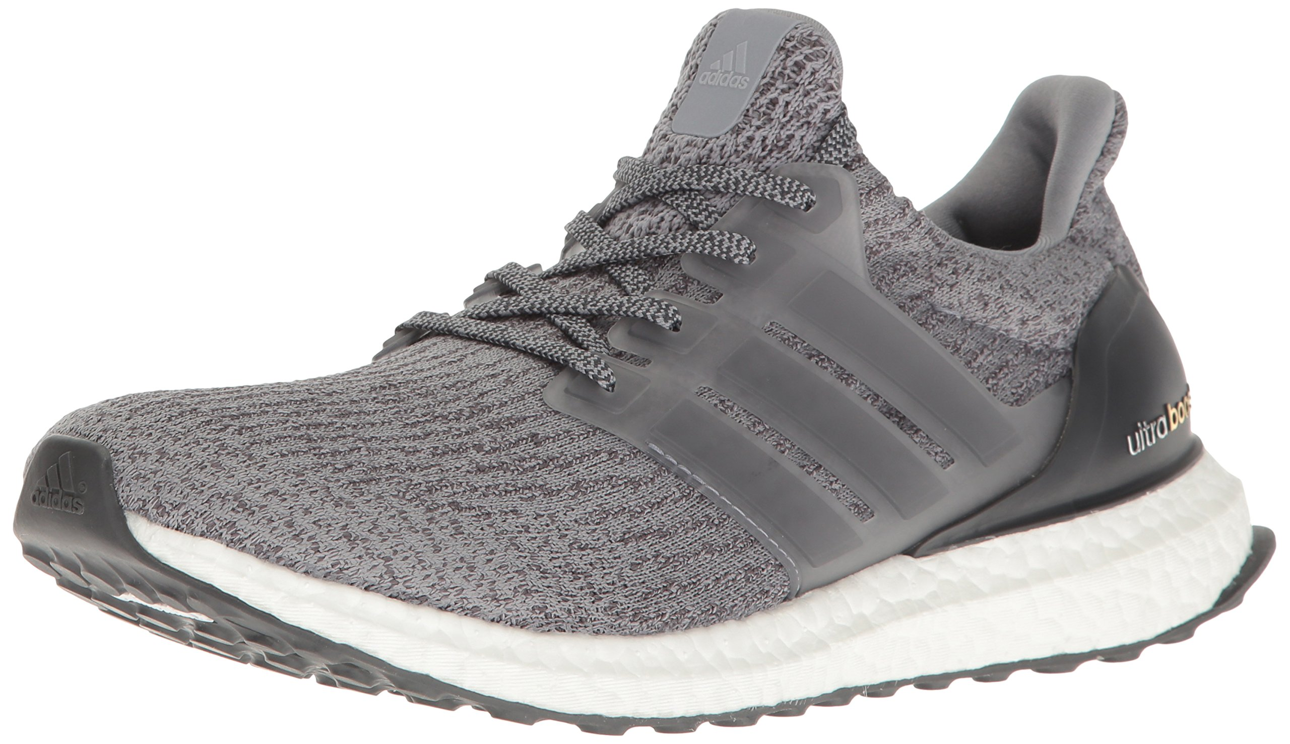 adidas Men's Ultraboost Running Shoe, Dark Grey Heather, 4 M US by adidas (Image #1)