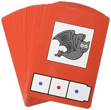 Amazon.com: Didax Educational Resources C-V-C Word Building Cards ...