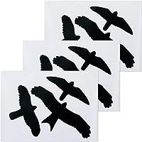 Relaxdays 10023872 Ventana, Pegatina anticolisión para pájaros, Set