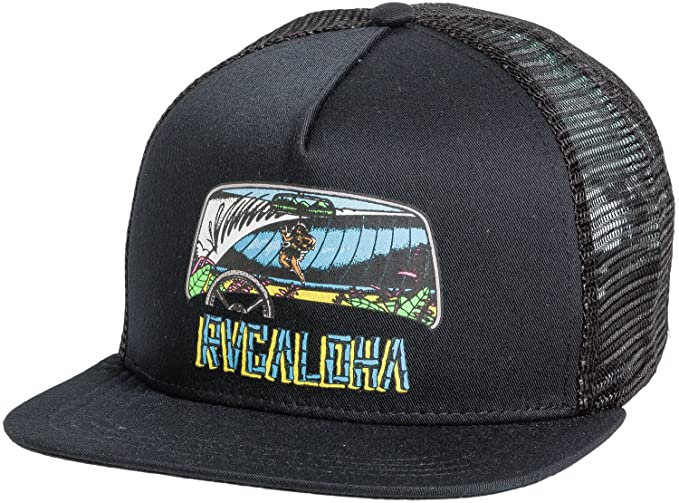 7b460d75 ... order new rvca mens aloha trucker hat cotton polyester dad6c ebf4d