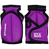 DTX Fitness Purple Weighted Training Gloves - Choice Of Weights