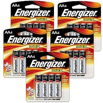 Amazon.com: Count Energizer Max - Pilas AAA (2 unidades ...