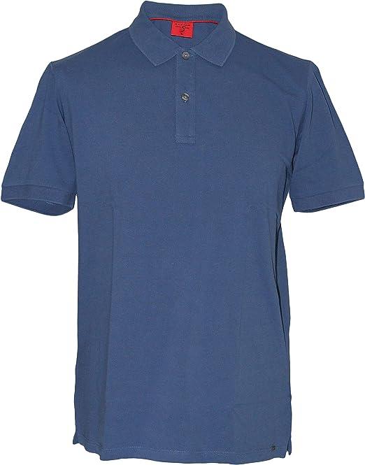OLYMP Men Polo Shirt Short Sleeve Level Five Casual Polo,Plain,Slim Fit,Polo Collar