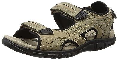 Geox Uomo Strada A U6224A0Bc50, Men's Sandals, Beige (C5004), 10 UK