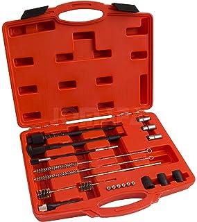 Kit de cepillos de limpieza de inyectores buj/ías 38 piezas