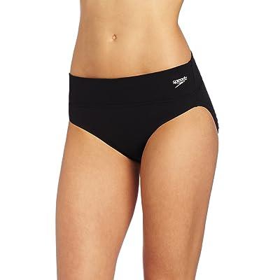 Speedo Women's Endurance+ Swim Bottom With Zip Pocket