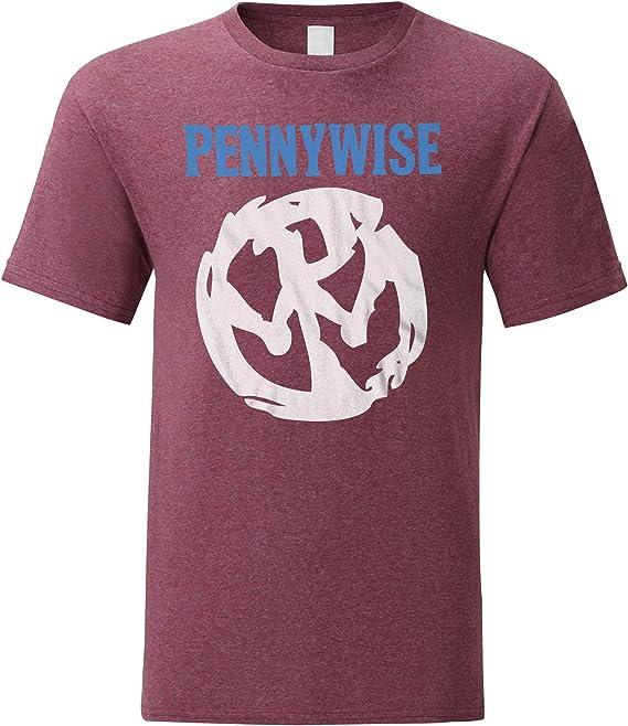 LaMAGLIERIA Camiseta Hombre Pennywise Pw03 - Camiseta Punk Rock 100% algodòn: Amazon.es: Ropa y accesorios