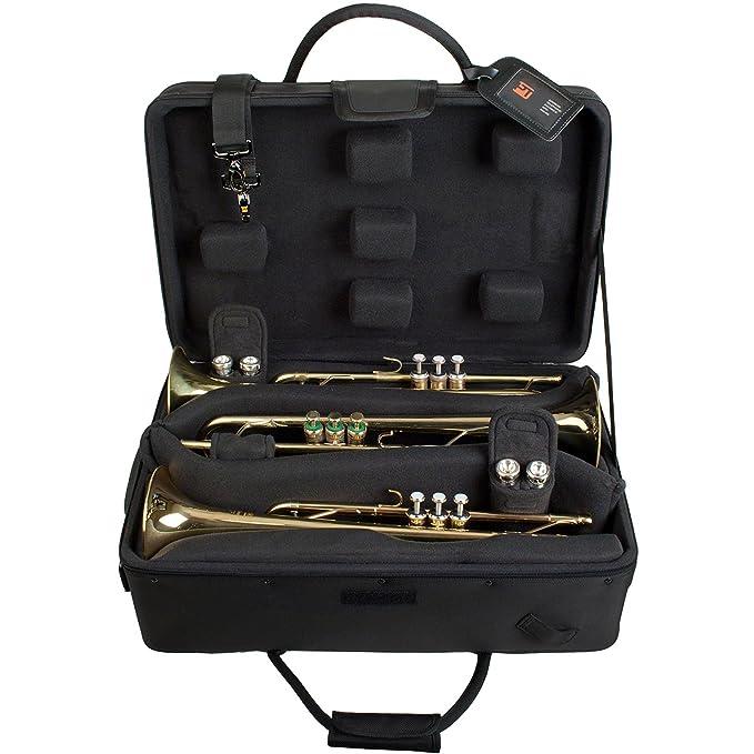 Amazon.com: Protec Ipac – Doble Trompeta Caso: Musical ...